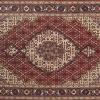 (1051) / 925147-  Persian Tabriz – 5.1 x 3.1ft. Silk & Wool